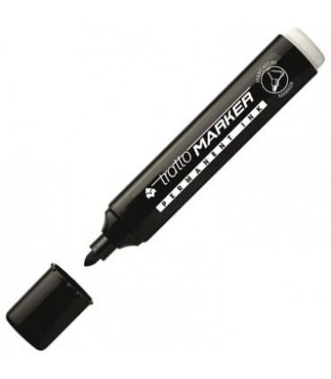 Tratto Marker punta tonda conf. da 20 pz. colore nero