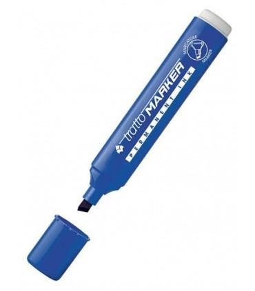 Tratto Marker punta scalpello conf. da 20 pz.colore blu