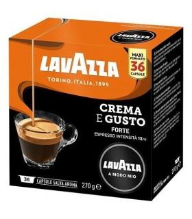 Capsule Lavazza A Modo Mio Espresso Crema e Gusto Forte  conf. da 36 capsule