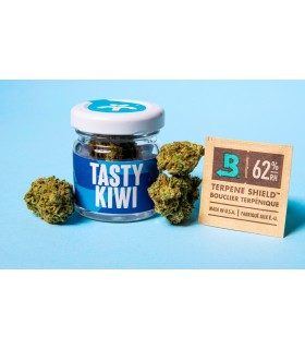 Infiorescenza di Cannabis Light BREAK TASTY KIWI CBD 21% THC 0.5% Barattolo in Vetro da 1gr.