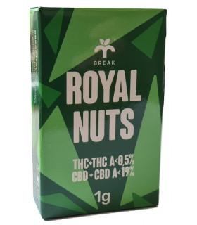 Infiorescenza di Cannabis Light ROYAL NUTS CBD 19% Scatolina da 1gr.