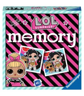 Gioco Mini Memory Ravensburger L.O.L. Surprise 48 Tessere