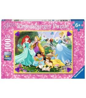 Puzzle Ravensburger 49x36 cm. 100 pz. Principesse Disney