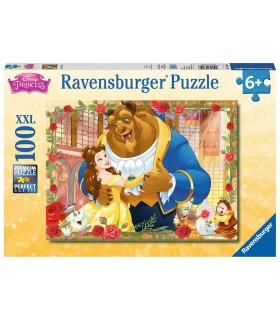 Puzzle Ravensburger 49x36 cm. 100 pz. La Bella e La Bestia