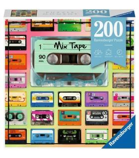 Puzzle Ravensburger 21x33 cm. 200 pz. Mix Tape