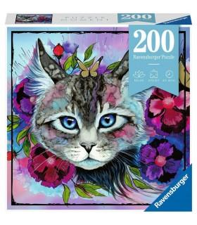 Puzzle Ravensburger 21x33 cm. 200 pz. Cateye