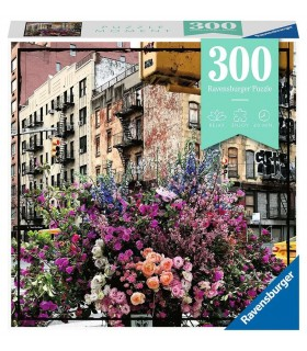 Puzzle Ravensburger 49x36 cm. 300 pz. Flowers in New York