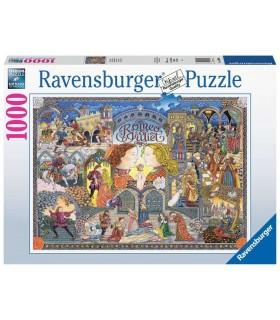 Puzzle Ravensburger 70x50 cm. 1000 pz. Romeo&Giulietta