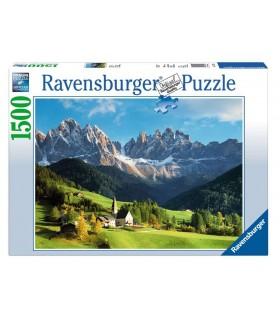 Puzzle Ravensburger 70x50 cm. 1500 pz. Dolomiti