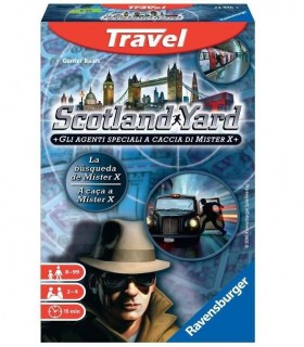 Gioco Travel Ravensburger Scotland Yard