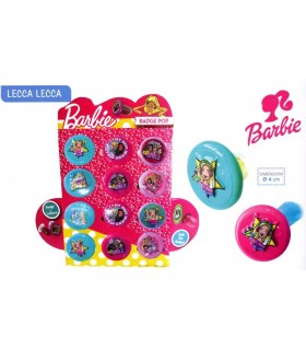 BADGE POP BARBIE CON LECCA LECCA 15g. EXPO DA 12 PZ. ASSORTITI