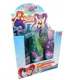 Beauty Cristal Putty Slime Puro e Cristallino con Sirene Expo da 6 pz. assortiti