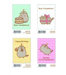 Biglietto Marpimar Compleanno  conf. 12 pz. assortiti