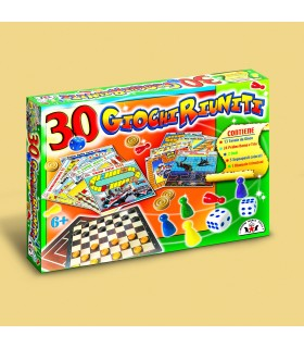 Set in Scatola con 30 Giochi assortiti