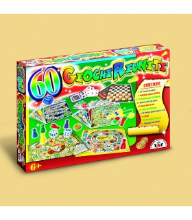 Set in Scatola con 60 Giochi assortiti