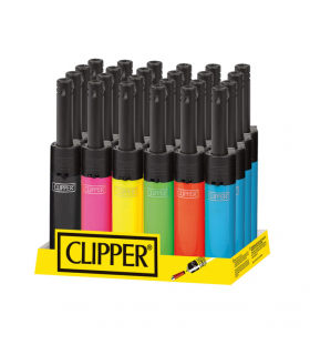 Accendigas Clipper Mini Shiny conf. 24 pz. colori assortiti