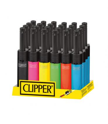 Accendigas Clipper Mini Shiny conf. 24 pz. colori assortiti
