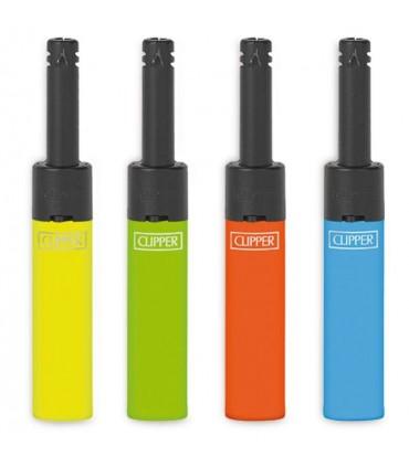 Accendigas Clipper Mini Shiny Colors conf. 24 pz. colori assortiti