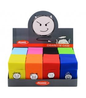 Copripacchetto in Silicone Atomic Emoji Expo 24 pz. assortito con 8 colori