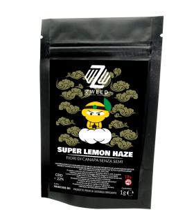 Infiorescenza di Cannabis Light ZWEED SUPER LEMON HAZE CBD 22% bustina da 1gr