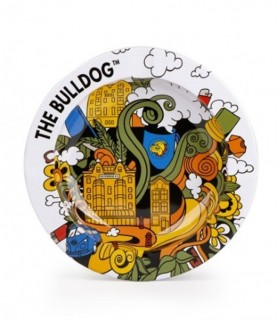 Posacenere in Metallo THE BULLDOG Mod. Drawing