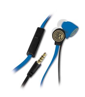 Auricolari F.C. Inter con Microfono e Tasto Funzione Confezionati in scatola