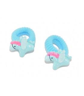 Elastici per Capelli Le Kikke con Pony e Glitter