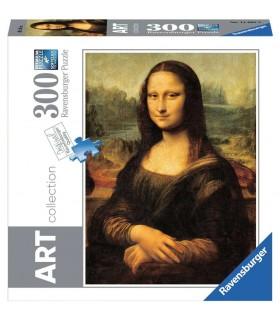 Puzzle Ravensburger 49x36 cm. 300 pz. Leondardo La Gioconda
