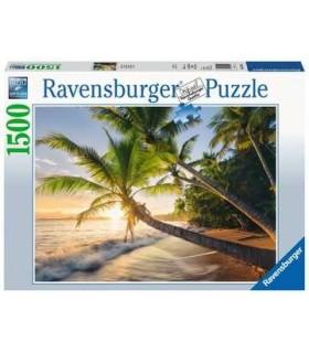 Puzzle Ravensburger 80x60 cm. 1500 pz. Spiaggia Segreta