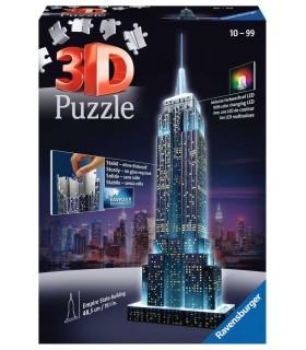 Puzzle Ravensburger 3D che si Illumina H.48.5 cm 216 pz. Empire State Building