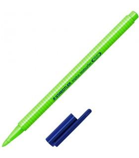 Evidenziatore Staedtler Triplus Colore Verde