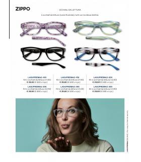 Ricarica Occhiali da Vista Zippo Mod. Suprema-2 da 4 pz. Diottria + 2.00