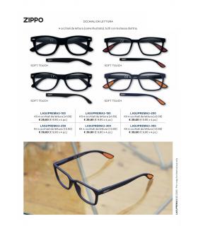 Ricarica Occhiali da Lettura Zippo Mod 31Z-B15 da 4 pz. Diottria + 3.00