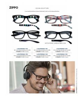 Ricarica Occhiali da Vista Zippo Mod.Suprema-1 da 4 pz. Diottria + 3.50