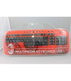 Tastiera Multimediale con interfaccia usb Milan