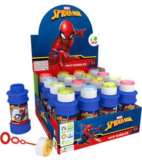Bolle di sapone  Spider Man da 175ml conf. 16 pz.