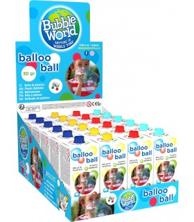 Expo Balloo Ball 30 gr. da 24 pz.  assortito in 4 Colori