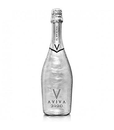 Bevanda AVIVA PLATINUM Aromatizzata a Base di Vino 5° Bottiglia da 75 CL