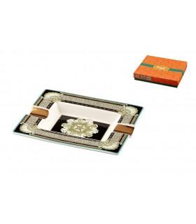 Posacenere per SIgari in Ceramica Smaltata Mis. 20x17cm