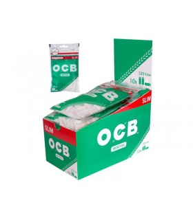 Filtrini OCB slim 6mm. al Mentolo in bustina conf. 10 bustine da 150 filtri