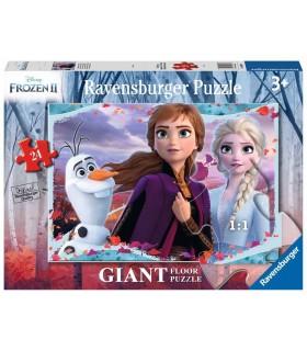 Puzzle Giant Ravensburger da Pavimento 24 pz. Frozen 2