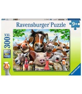Puzzle Ravensburger 49x36 cm. 300 pz. Selfie in Fattoria