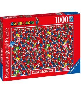 Puzzle Ravensburger 70x50 cm.  1000 pz. Super Mario Bros Challange