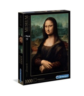 Puzzle Clementoni Collection 1000 pz. Leonardo La Gioconda