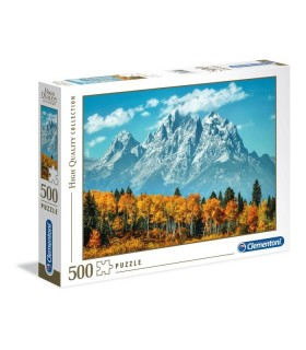 Puzzle Clementoni Collection 500 pz. Grand Teton in Fall