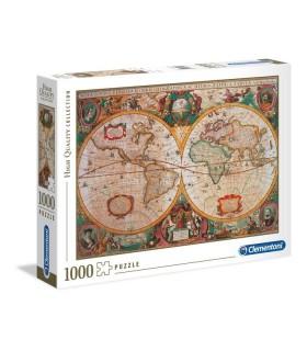 Puzzle Clementoni Collection 100 pz. Old Map