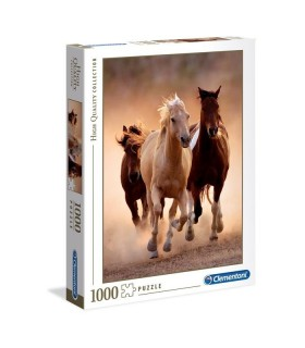 Puzzle Clementoni Collection 1000 pz. Running Horses