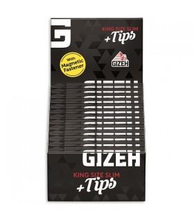 Cartina Gizeh EXtra Fine Ks Black + Filtri in Carta conf. 26