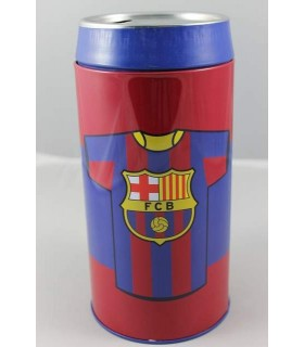 Salvadanaio latta grande Barcellona
