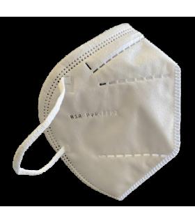 Mascherina Autofiltrante 5 Strati FFP2 colore Bianco conf. 20pz (blisterate singolarmente)